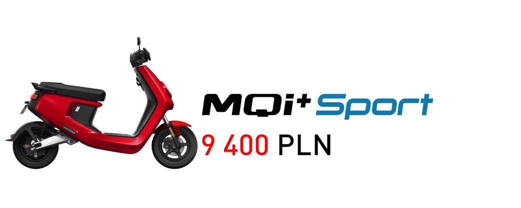 skuter elektryczny niu mqi+ sport niu polska