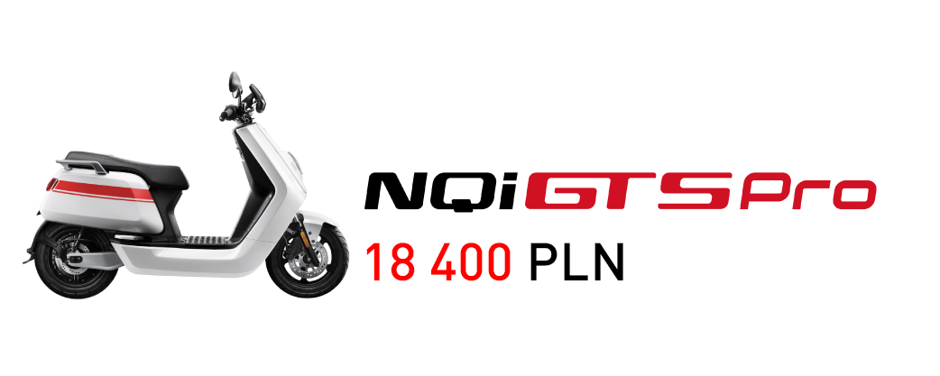 skuter elektryczny niu nqi gts pro nqi series